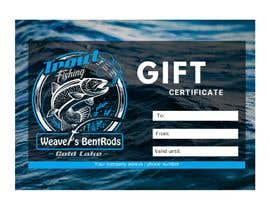 #3 for Gift certificate template by mervec749