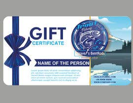 #9 for Gift certificate template by tapasmuduli1