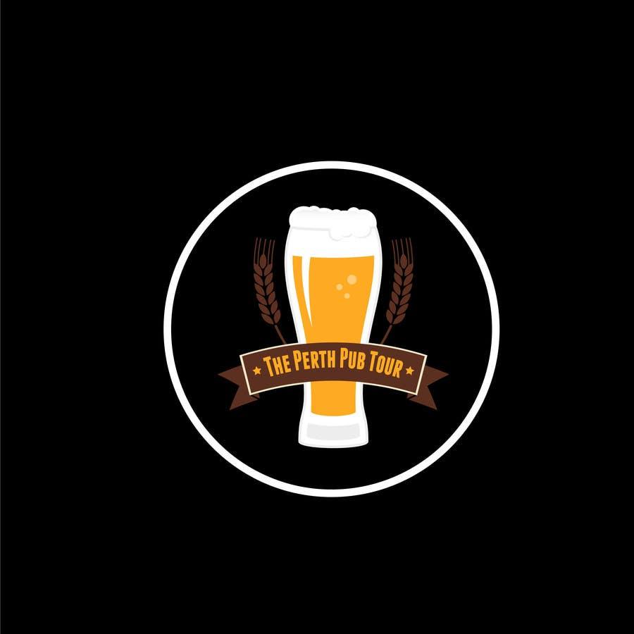 Penyertaan Peraduan #24 untuk Design a Logo for The Perth Pub Tour