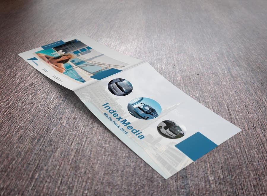 Konkurrenceindlæg #                                        9                                      for                                         Design a Brochure for Index Media UAE