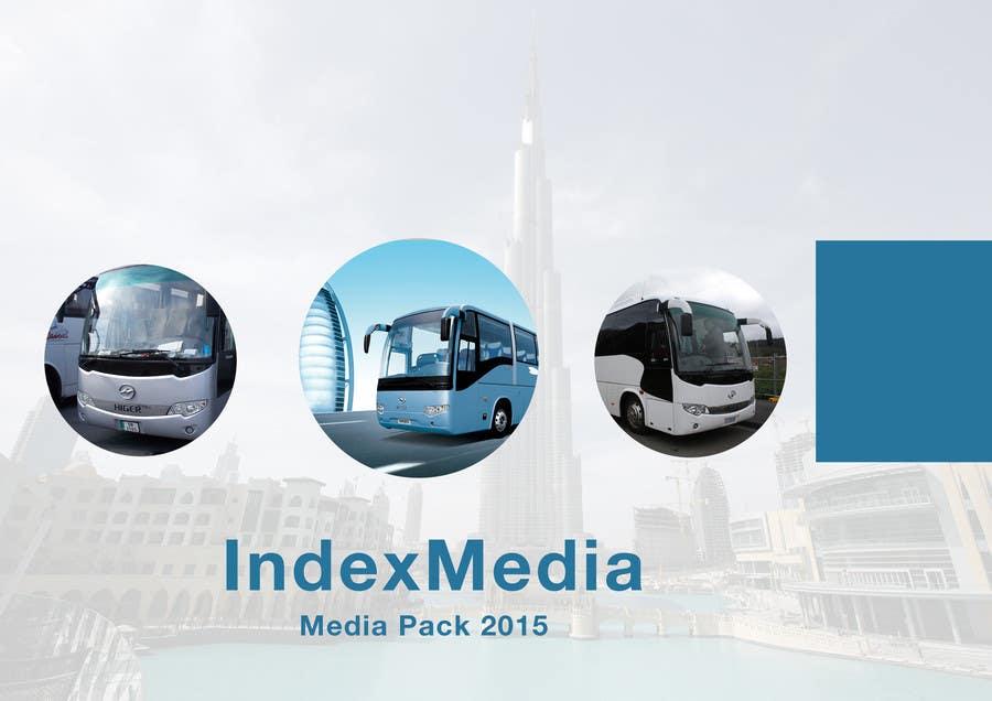 Konkurrenceindlæg #                                        22                                      for                                         Design a Brochure for Index Media UAE