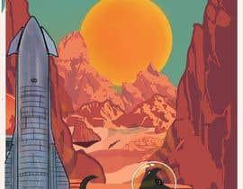#9 para High-Resolution Retro Mars Posters Featuring Ziggy the Puggle por kalerproduction