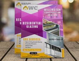 graphymehfooz tarafından design a flyer for wellington construction glazing için no 80