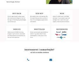 #50 untuk Sharpen simple website oleh Parashshikder