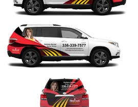 #22 for Partial vehicle wrap design by banduwardhana