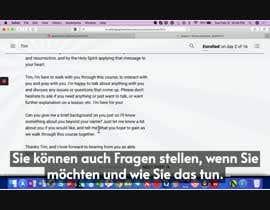 #12 untuk Add German text to English video oleh alwinprathap