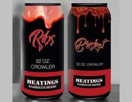 #21 for Design craft beer label for barbecue restaurant af TheCloudDigital