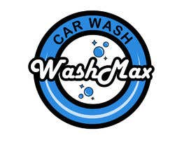 #24 for Car wash logo design by TobiOros