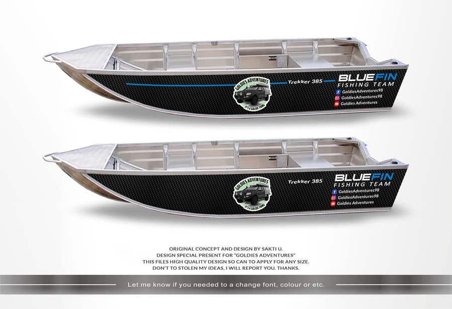 Penyertaan Peraduan #                                        4                                      untuk                                         Custom boat wrap