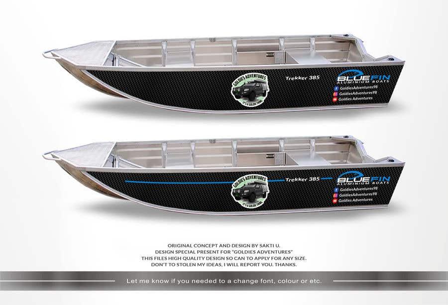 Penyertaan Peraduan #                                        6                                      untuk                                         Custom boat wrap