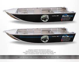 #6 untuk Custom boat wrap oleh SAKTI2
