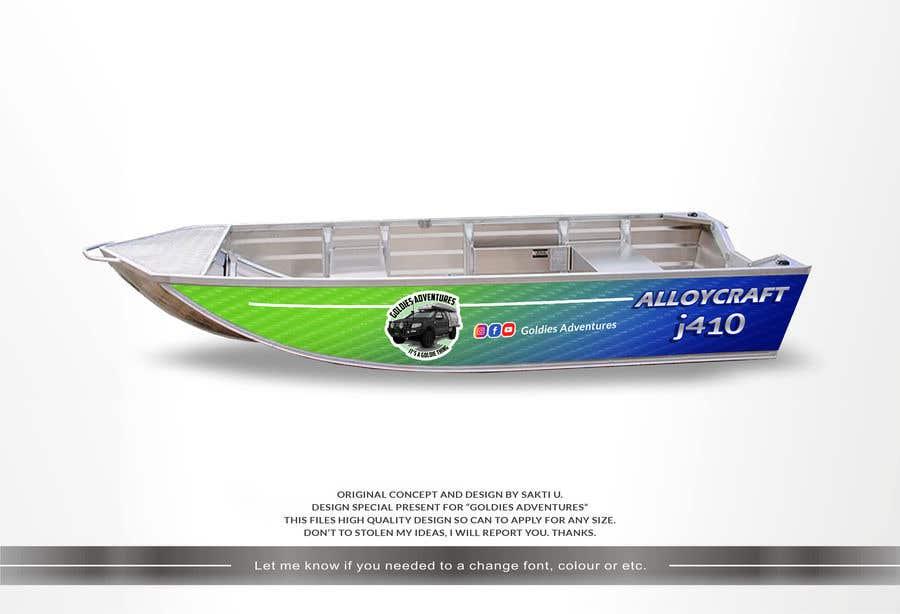 Penyertaan Peraduan #                                        12                                      untuk                                         Custom boat wrap