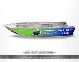 #12 untuk Custom boat wrap oleh SAKTI2