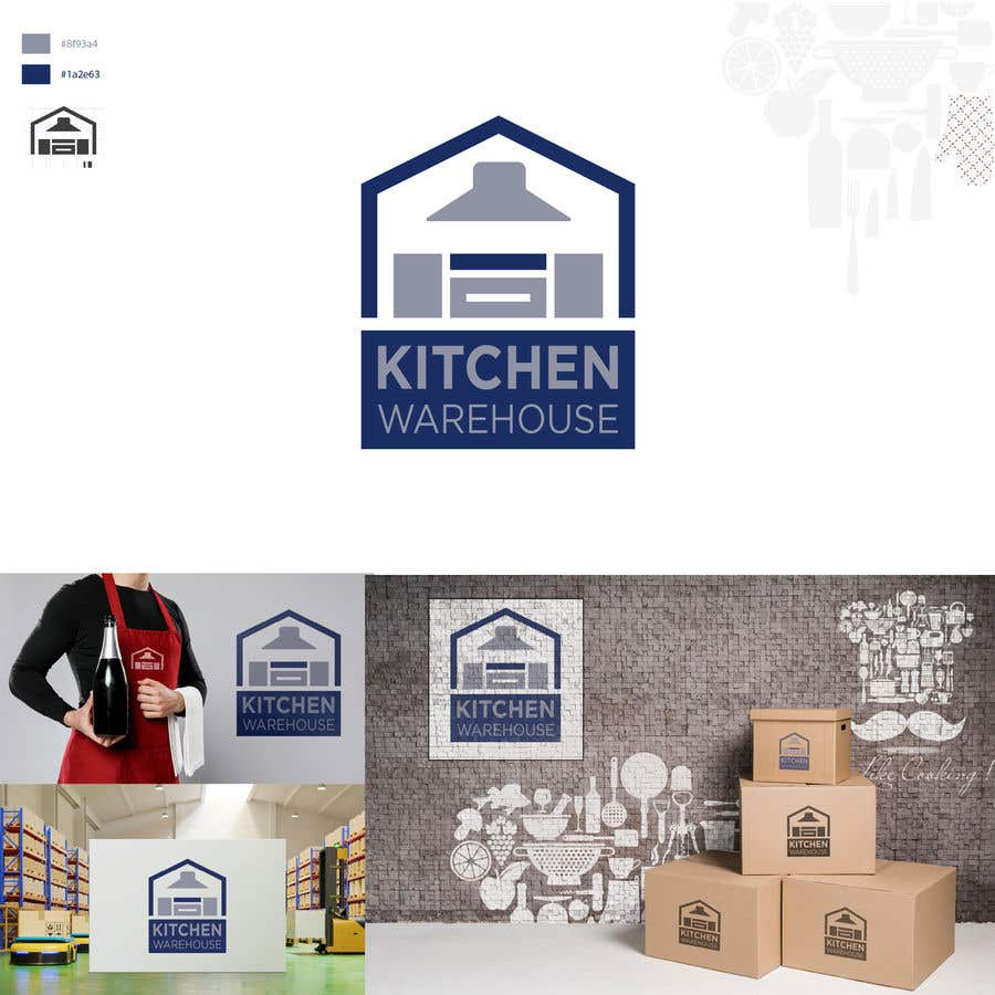 Konkurrenceindlæg #                                        117                                      for                                         Logo Needed for Kitchen and door Website