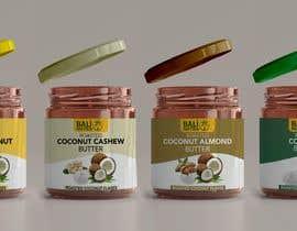 #4 for Food Label design (4 x flavors of Butter, Almond, Peanut, Cashew, Original) af MasterDesignRO