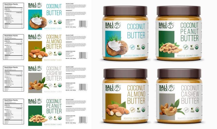 Konkurrenceindlæg #                                        27                                      for                                         Food Label design (4 x flavors of Butter, Almond, Peanut, Cashew, Original)