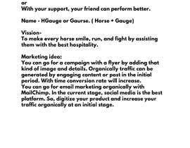 Nro 9 kilpailuun Help me to find marketing ideas for a cotton gauze roll for horses käyttäjältä Bhumidhar8