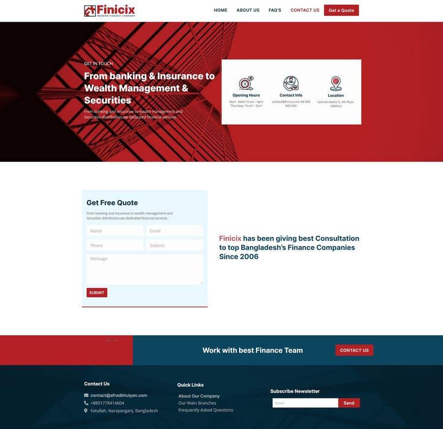 Konkurrenceindlæg #                                        10                                      for                                         Build Excellent Front Page Of our website - 14/05/2021 12:47 EDT