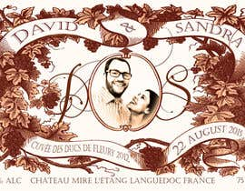adamitchell tarafından Design a wine bottle label for a wedding! için no 24