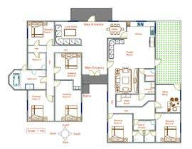 #38 for Draw a professional floor plan from a hand drawing by RobiKarim03