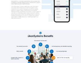 #62 for Design Website for Crypto Coin by fatimaC09