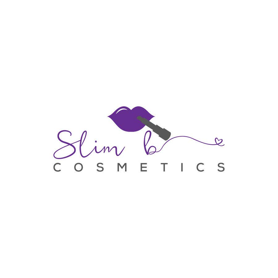 Bài tham dự cuộc thi #                                        28                                      cho                                         Logo for cosmetics brand Slim B Cosmetics