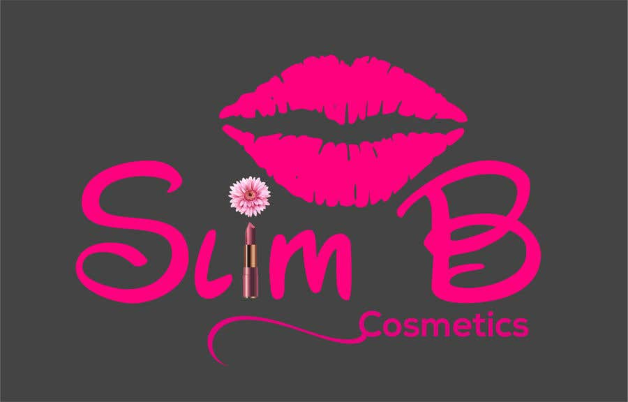 Bài tham dự cuộc thi #                                        9                                      cho                                         Logo for cosmetics brand Slim B Cosmetics