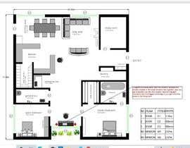 Nro 23 kilpailuun Home Floor Plan käyttäjältä hiren914