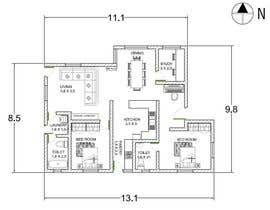 Nro 28 kilpailuun Home Floor Plan käyttäjältä anjkrishna36