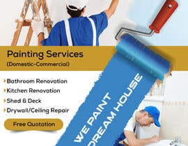 #55 for build me a flyer for  house painting company by ksh568bb1a94568e