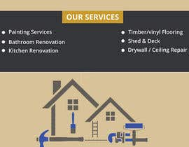 #49 for build me a flyer for  house painting company by Rajasameer829