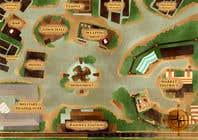 Graphic Design Kilpailutyö #16 kilpailuun Нужно нарисовать карту района города для DnD игры.