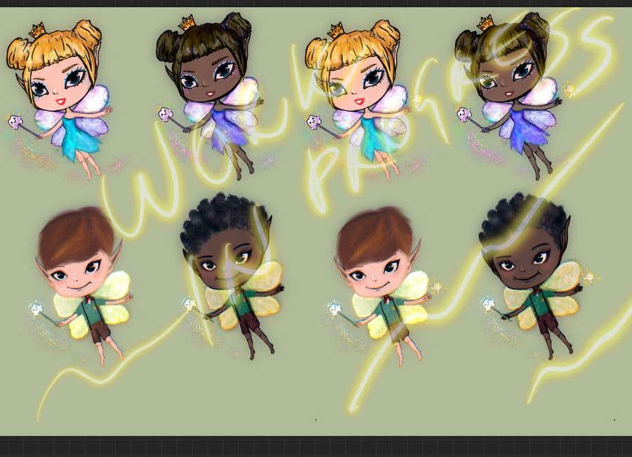 Penyertaan Peraduan #                                        53                                      untuk                                         Draw a cute fairy and make a fairy certificate