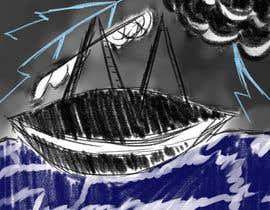 #17 untuk Illustration Re-Do (Ship in Stormy Sea) oleh RVDJH