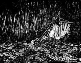 #9 untuk Illustration Re-Do (Ship in Stormy Sea) oleh zarieffin