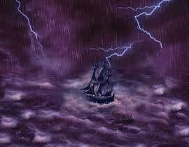 #23 untuk Illustration Re-Do (Ship in Stormy Sea) oleh saihanmollik