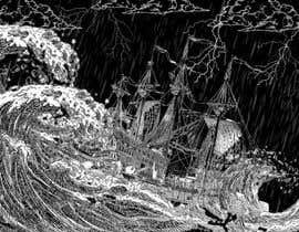 #14 untuk Illustration Re-Do (Ship in Stormy Sea) oleh arysgrc