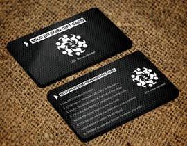 #169 para Create a Black & White Metal Business Card Design por Sadikul2001