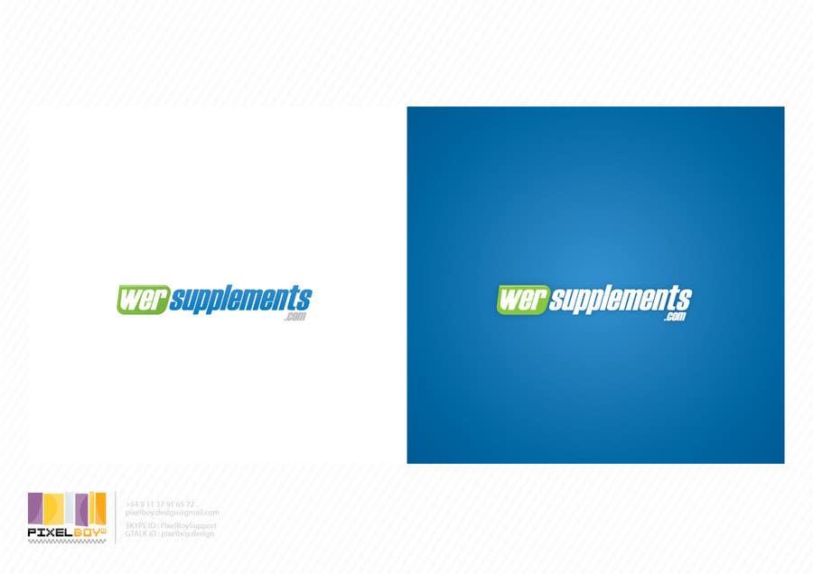 Inscrição nº 18 do Concurso para Design a Logo for wersupplements