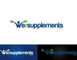 #164 para Design a Logo for wersupplements por csdesign78