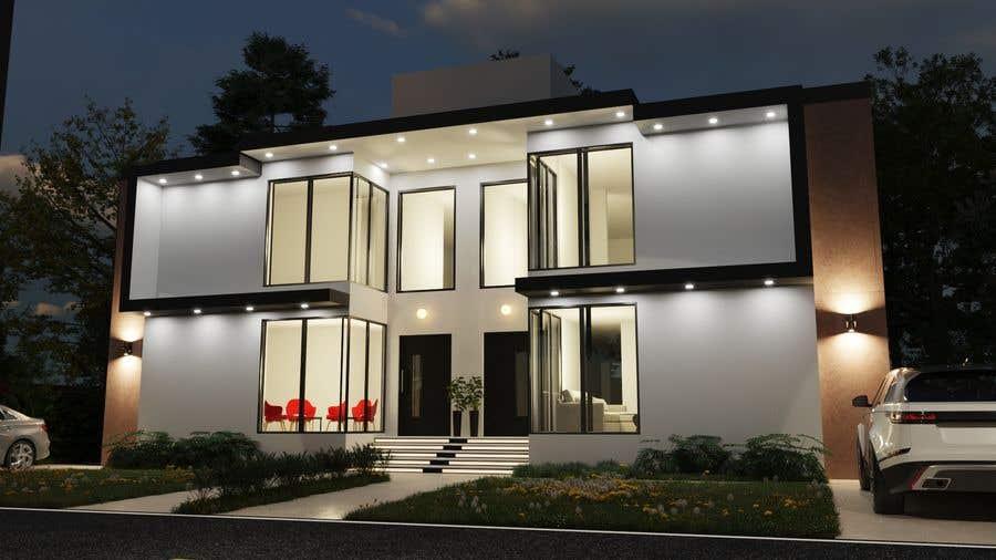 Penyertaan Peraduan #                                        11                                      untuk                                         Facade duplex house proposal desing