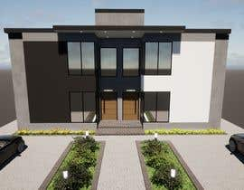 #12 for Facade duplex house proposal desing by prodesigning10