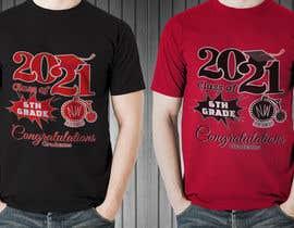 #56 untuk Northwood class of 2021 t shirt design oleh bairagythomas