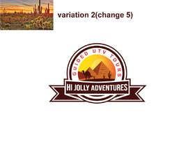 #99 untuk Logo - Off Road UTV Side By Side Logo, Arizona Desert, Pine Trees, Cactus Mountains, camels pyramids. oleh munmun87