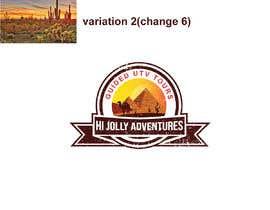 #101 untuk Logo - Off Road UTV Side By Side Logo, Arizona Desert, Pine Trees, Cactus Mountains, camels pyramids. oleh munmun87