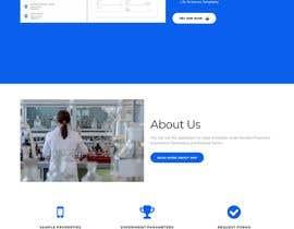 Nro 14 kilpailuun Simple single landing page to introduce a mini scientfic app käyttäjältä adnanbahrian