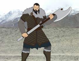 Nro 25 kilpailuun Create an Viking Image käyttäjältä deckiaditian17