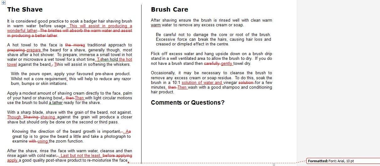 Bài tham dự cuộc thi #6 cho Rework an How to Shave Guide