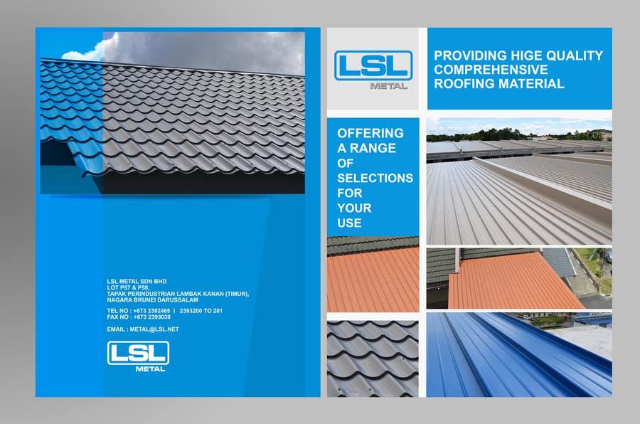 Penyertaan Peraduan #30 untuk Design a cover for high-end metal roof colour chart