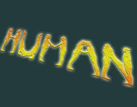nº 49 pour We need a vector illustration of the word 'HUMAN' made out of people par lupalupi
